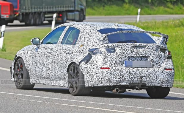 11th gen Honda Civic Type-R Spied for the First Time 8