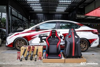The Rally-Inspired Customized 2020 Honda City by RS-R Japan 11