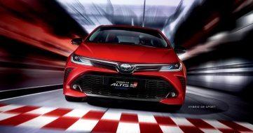 2020 Toyota Corolla Altis GR Sport Debuts in Taiwan 8