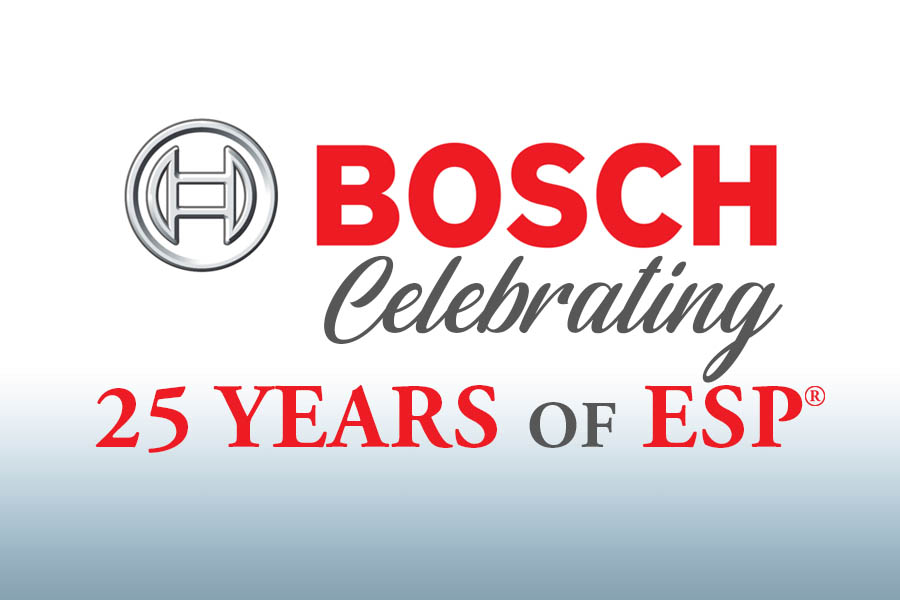 Bosch Celebrating 25 Years of ESP 8