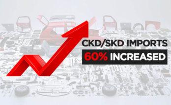 Assemblers Imported $62 Million Worth of CKDs/SKDs in April 1