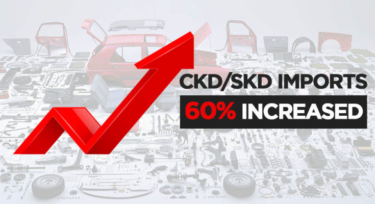 Assemblers Imported $62 Million Worth of CKDs/SKDs in April 1