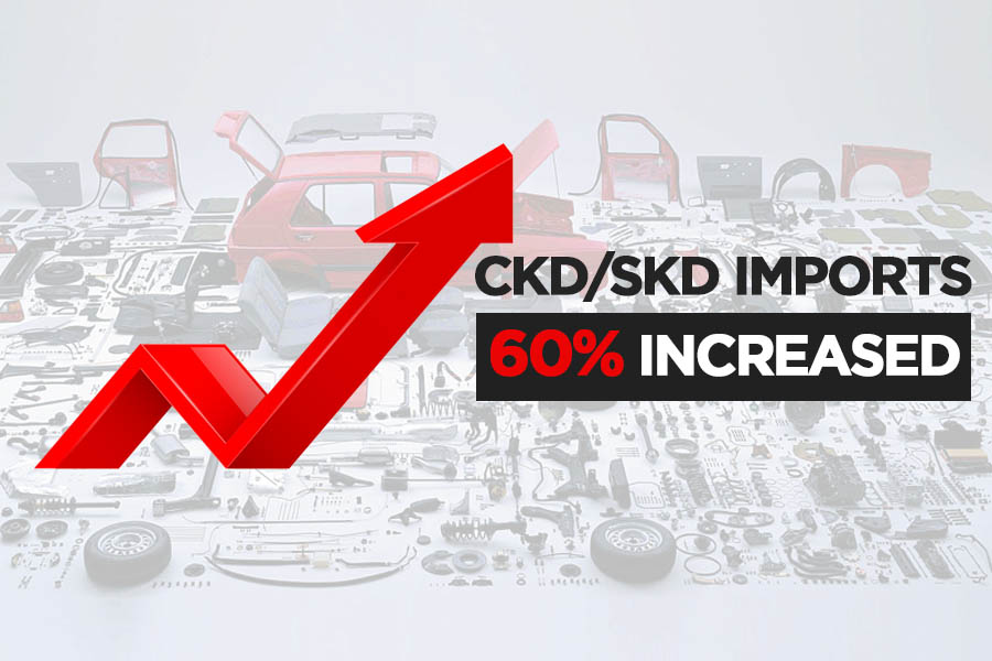 Assemblers Imported $62 Million Worth of CKDs/SKDs in April 18