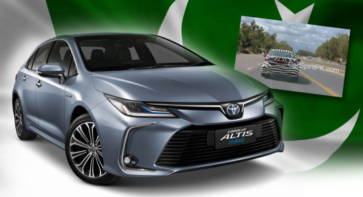 12th gen Toyota Corolla Spotted Testing in Pakistan 1