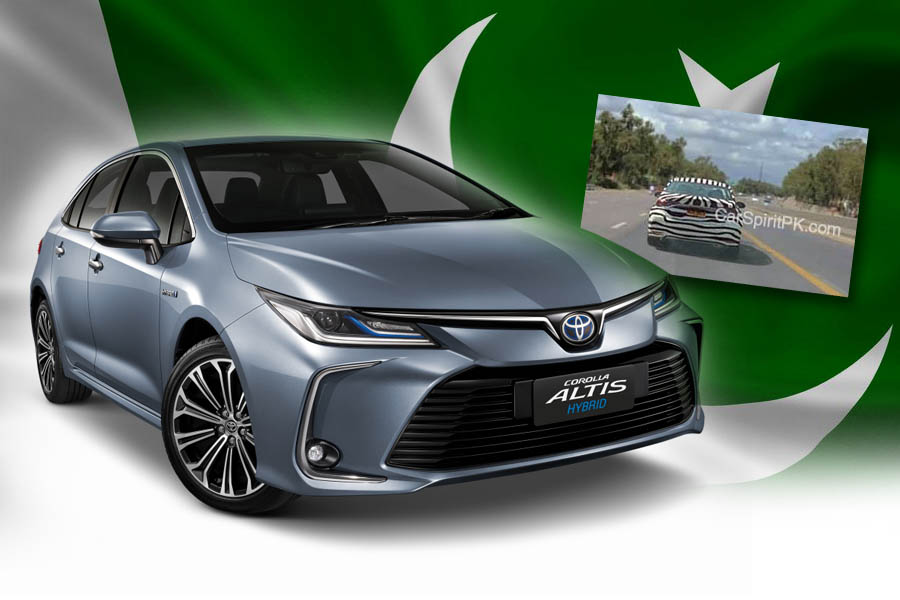 12th gen Toyota Corolla Spotted Testing in Pakistan 1