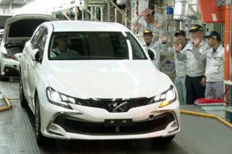 Toyota Bids Farewell to Mark X 3