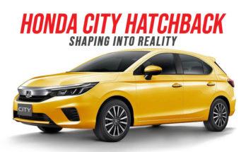 Honda City Hatchback Shaping into Reality 8