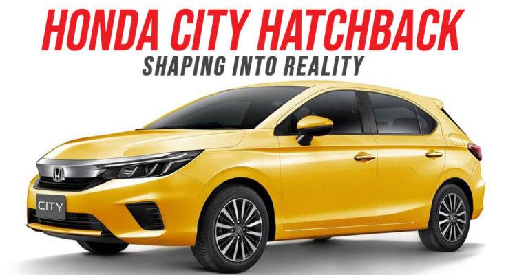 Honda City Hatchback Shaping into Reality 1