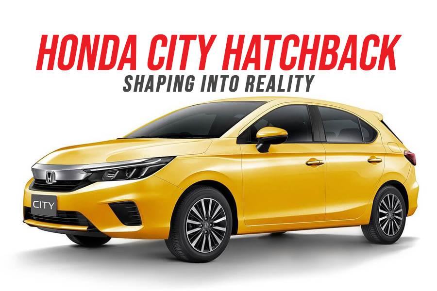 Honda City Hatchback Shaping into Reality 3