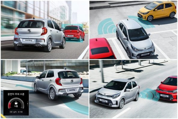 2020 Kia Morning (Picanto) Facelift Launched in South Korea 5