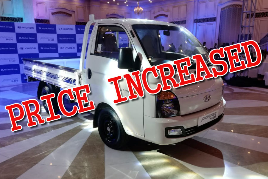 Hyundai-Nishat Increases Porter H-100 Prices 12