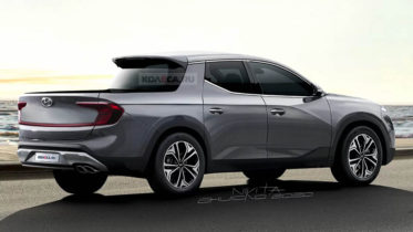 Renderings: Hyundai Santa Cruz Pickup Truck 4