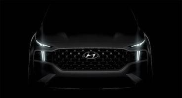 New 2021 Hyundai Santa Fe Facelift Teased 2