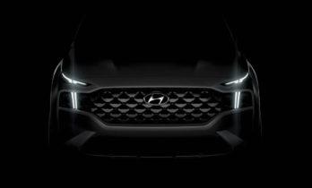New 2021 Hyundai Santa Fe Facelift Teased 4