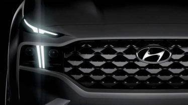 New 2021 Hyundai Santa Fe Facelift Teased 5