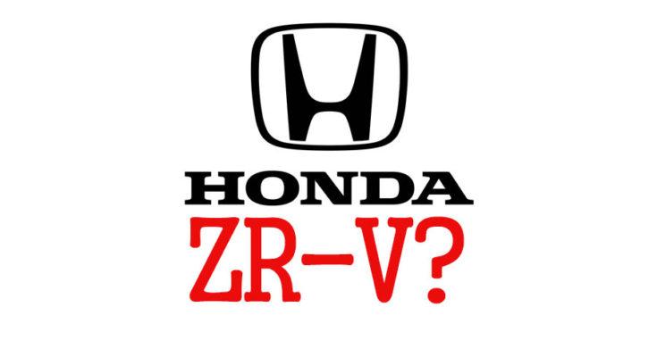 Honda Preparing a New Model Called ZR-V? 1