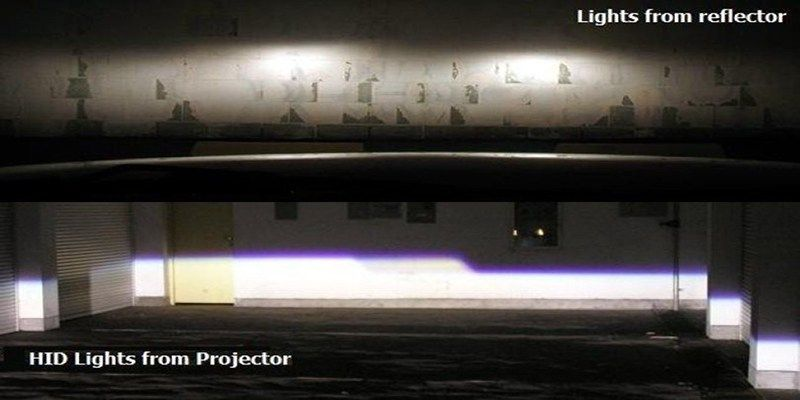 Reflector vs Projector Headlamps 5