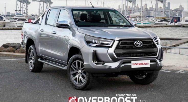 Renderings: 2020 Toyota Hilux Facelift 1