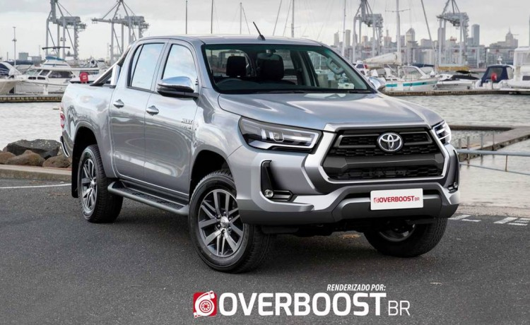 Renderings: 2020 Toyota Hilux Facelift 4