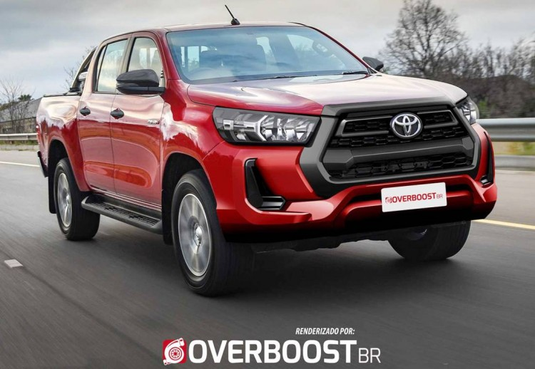 Renderings: 2020 Toyota Hilux Facelift 1