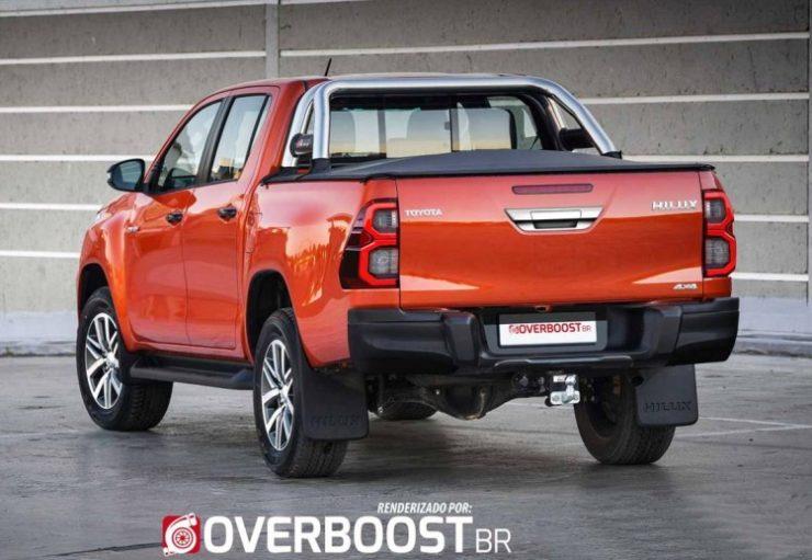 Renderings: 2020 Toyota Hilux Facelift 3