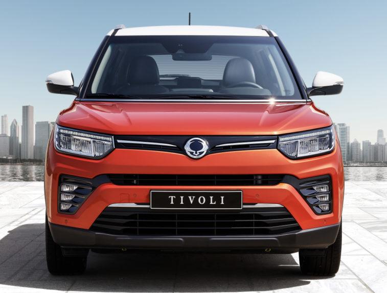 2020 SsangYong Tivoli Facelift Introduced 1