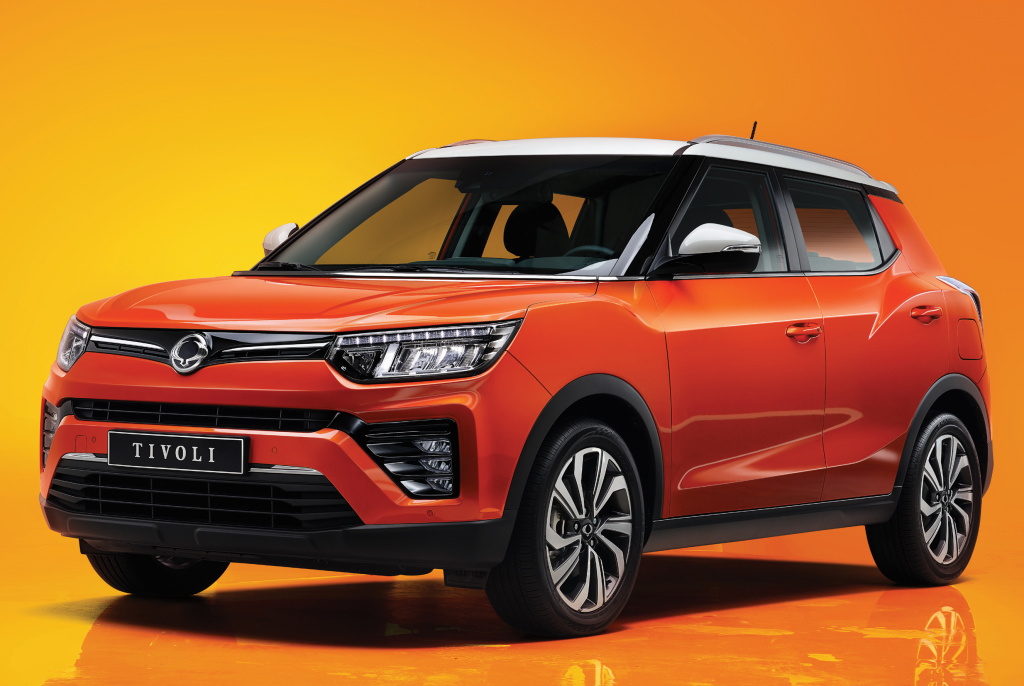2020 SsangYong Tivoli Facelift Introduced 1