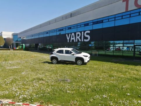 First Real-Life Images of 2020 Toyota Yaris Cross 2
