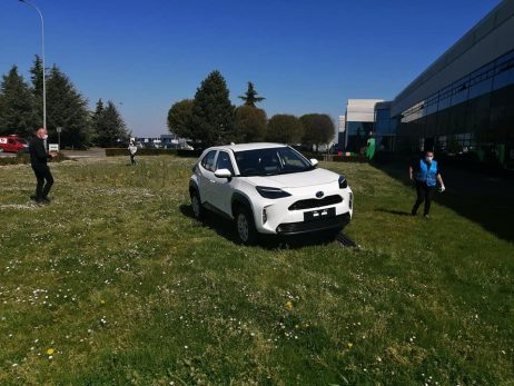 First Real-Life Images of 2020 Toyota Yaris Cross 5