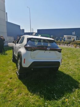 First Real-Life Images of 2020 Toyota Yaris Cross 6