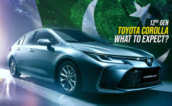 12th Gen Toyota Corolla in Pakistan: What to Expect? 1