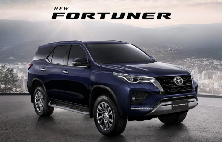 2020 Toyota Fortuner Facelift Debuts in Thailand 16