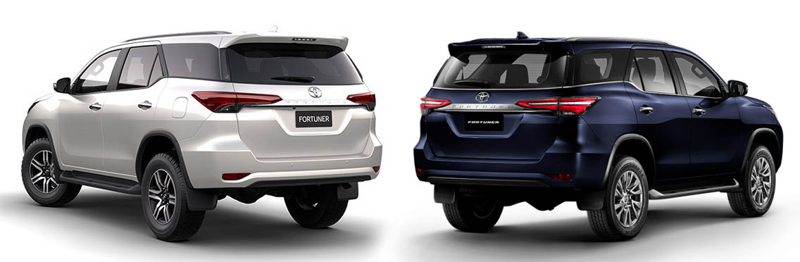 Toyota Fortuner: Old vs New 4