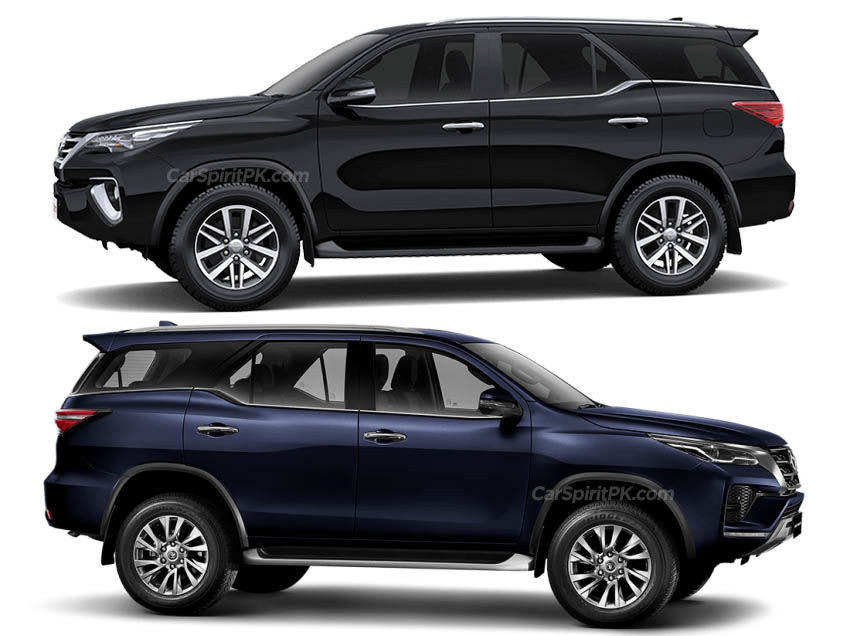 Toyota Fortuner: Old vs New 3