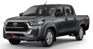 2020 Toyota Hilux Facelift Debuts in Thailand 9