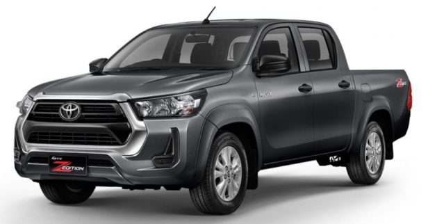 2020 Toyota Hilux Facelift Debuts in Thailand 8