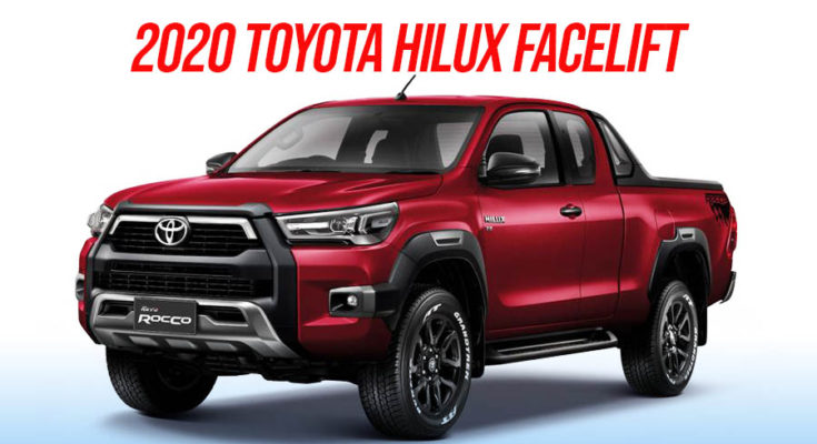 2020 Toyota Hilux Facelift Debuts in Thailand 1