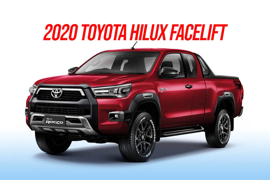 2020 Toyota Hilux Facelift Debuts in Thailand 18