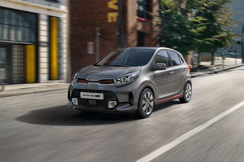 European-spec Kia Picanto Facelift Revealed 7