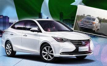 Changan Alsvin Sedan Spotted Testing in Pakistan 12
