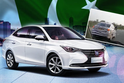 Changan Alsvin Sedan Spotted Testing in Pakistan 2