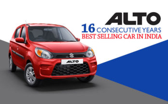 Alto Remains Bestselling Car in India for 16 Consecutive Years 7