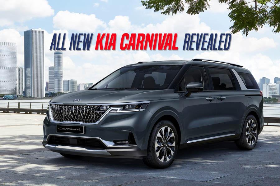 Fourth Generation Kia Carnival Revealed 6