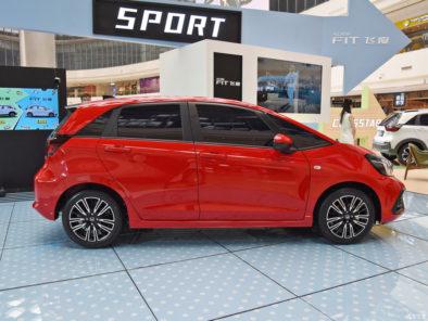 China-spec 2020 Honda Fit Unveiled 4