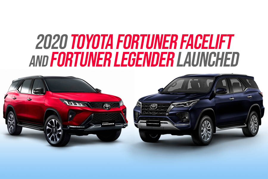 2020 Toyota Fortuner Facelift Debuts in Thailand 19