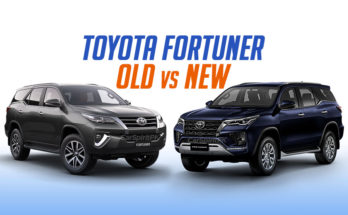 Toyota Fortuner: Old vs New 10