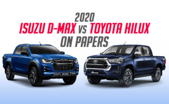 New Toyota Hilux vs Isuzu D-MAX on Papers 1