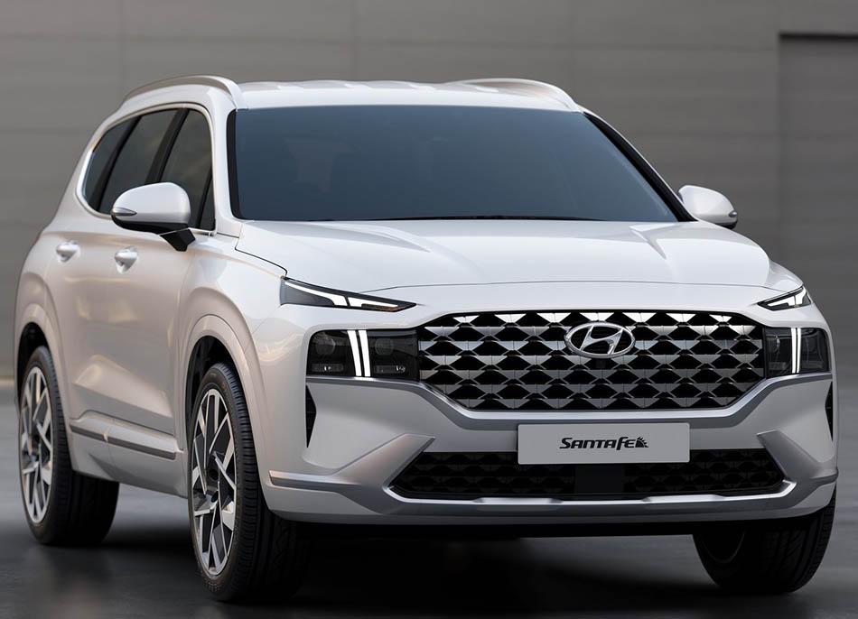 2021 Hyundai Santa Fe Facelift Unveiled 7