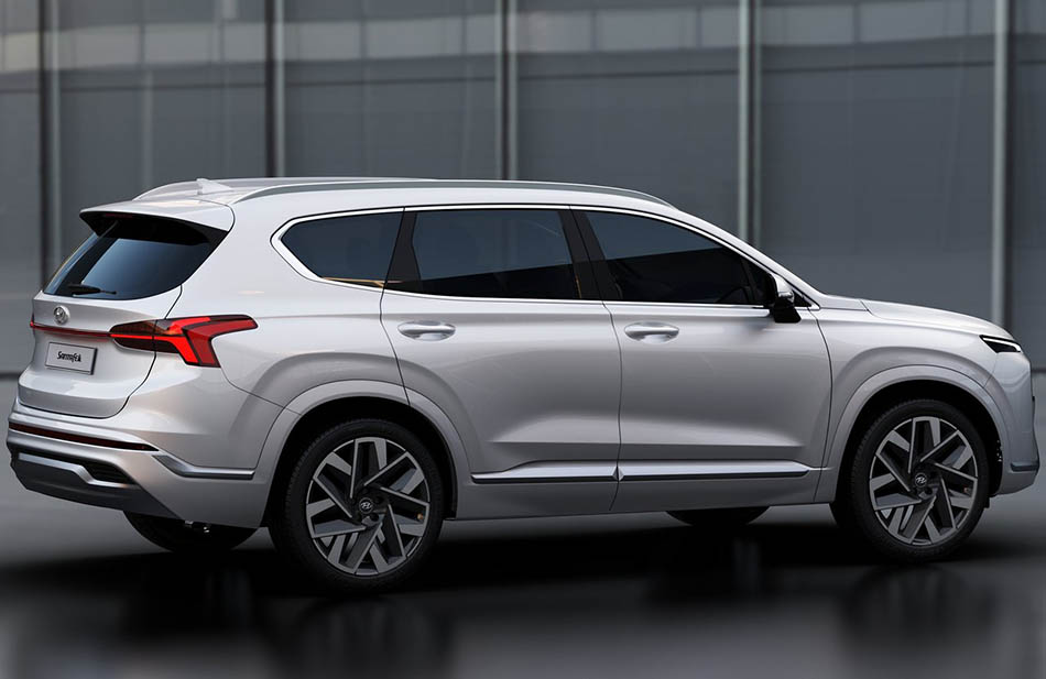 2021 Hyundai Santa Fe Facelift Unveiled 3