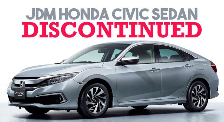 Honda Civic Sedan Discontinued in Japan 1